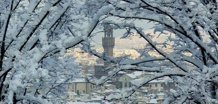Quando nevica a Firenze, Palazzo Vecchio