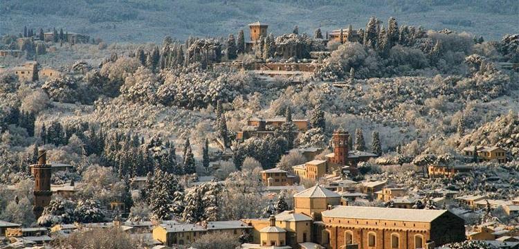 Quando nevica a Firenze, panorama