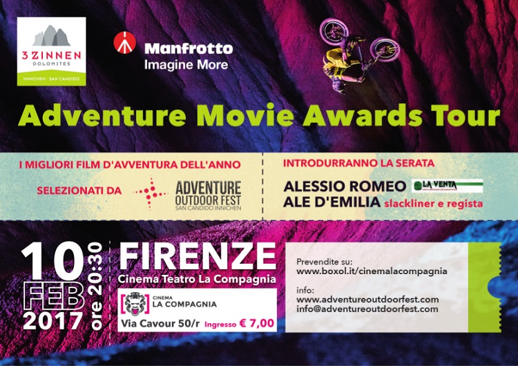 Firenze: Adventure Movie Awards