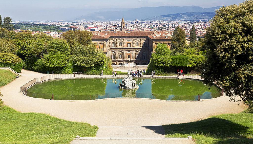 Giardini di firenze la guida a ville parchi e aree verdi - Progetti giardino per villette ...